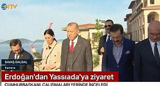 Oğuz Haksever'in canlı yayında Cumhurbaşkanı Erdoğan'a Yaslı Ada Tepkisi